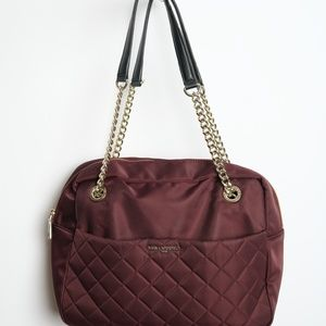 SOLD.  Karl Lagerfeld Paris Shoulder Bag Maroon